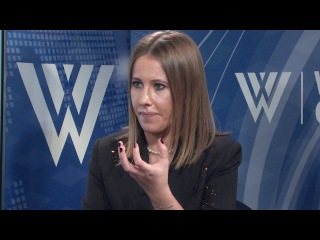 Matthew Rojansky interviews Ksenia Sobchak, Russian presidential candidate