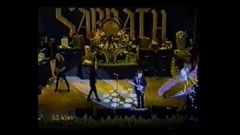 Black Sabbath Live at The Orpheum Theatre, Gzira Malta 25th August 1995