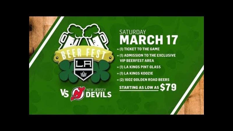 NHL 18 PS4. REGULAR SEASON 2017-2018: New Jersey DEVILS VS Los Angeles KINGS. 03.17.2018. (NBCSN) !