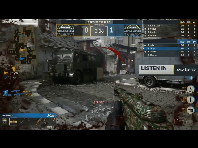 ASTRO Gaming Listen In w Luminosity CWL Atlanta