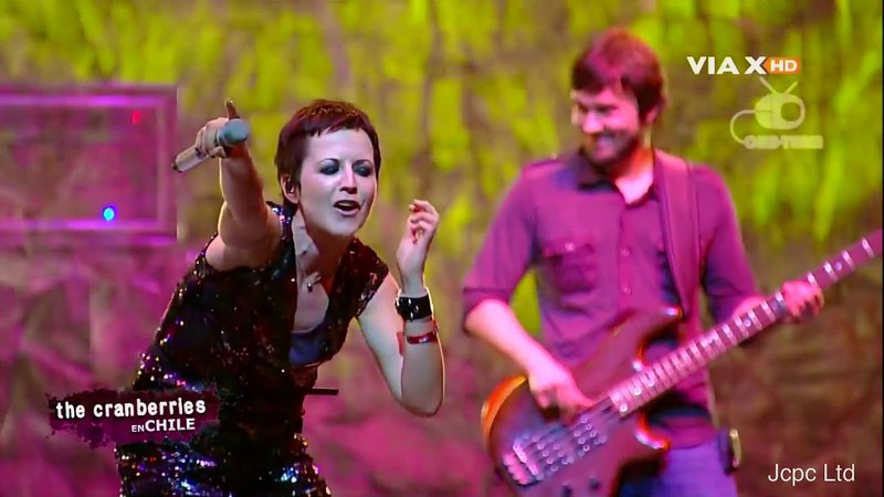 "The Cranberries ""Wanted"" Santiago Chile South American Reunion Tour 2010 Full HD"