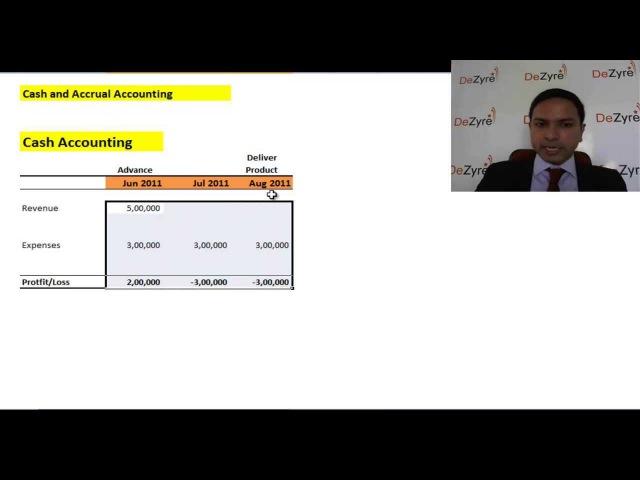 Financial Modelling - Advance Income Statement - Accruals and Revenue Recognition