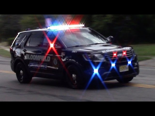 Police Car Responding Compilation Part 3 Bloomfield Police Department