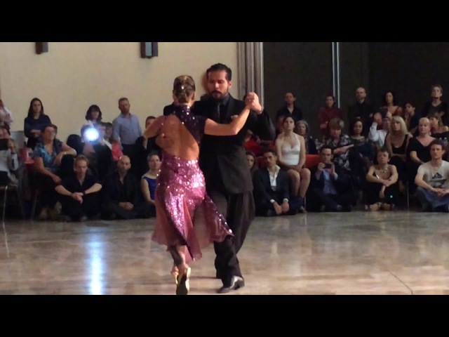 Sebastian Arce y Mariana Montes A Evaristo Carriego Gaillard 04022017