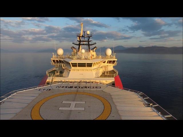 Deep Explorer - Dive Support Vessel - Sea trials - Norway, Vard, Technip