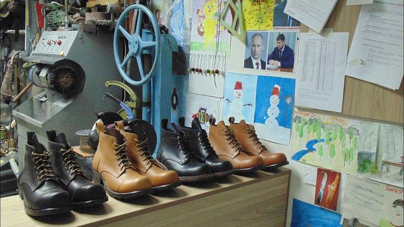 Делаем рабочие ботинки норвежским способом Veldtschoen-welted boots making