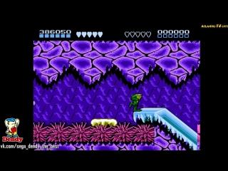 Battletoads игра на Денди 1991 Полное прохождение на русском языке Боевые Жабы NES Dendy