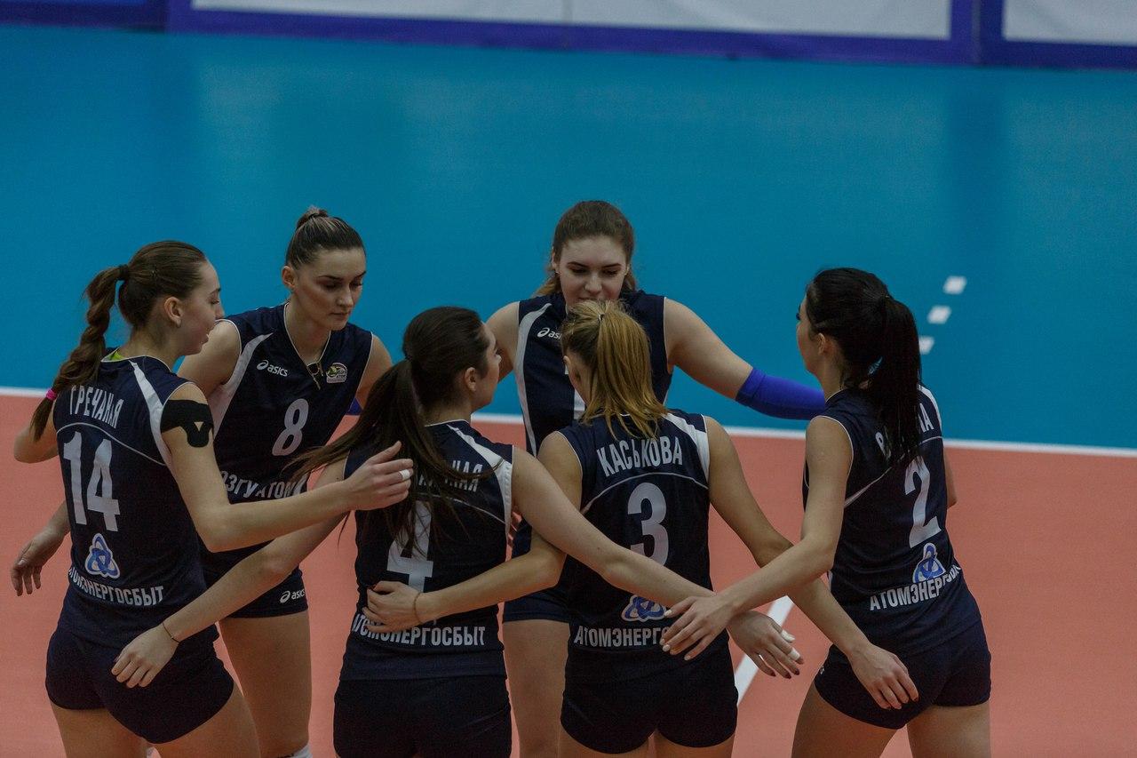 Волейболистки «ЮЗГУ-АТОМ»  примут новосибирский «Олимп»