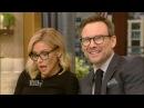 Live With Kelly 11 04 2016 co host Christian Slater Kyra Sedgwick Josh Radnor