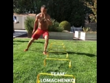 "?WBO Super Featherweight Champion Vasyl ""Hi-Tech"" Lomachenko killing his speed session"