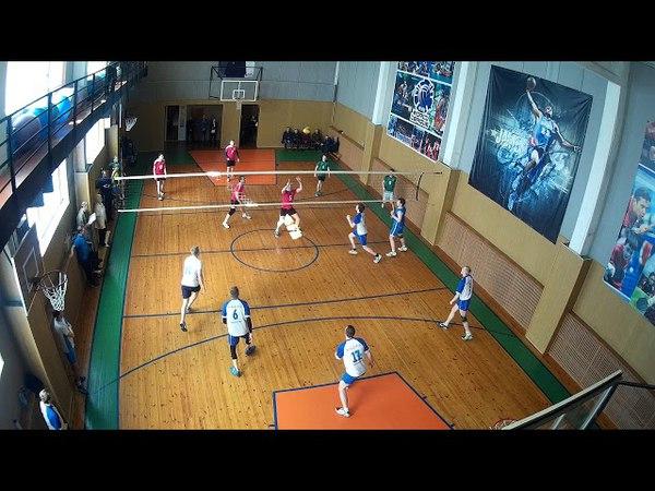 Первенство ЛО по волейболу, группа Б, Сертолово - Сясьстрой 30, 1 партия. 07,04,2018