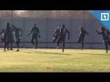 Тренировка сборной Аргентины в Москве