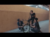 CHEAP THRILLS - SIA - Played on a BICYCLE - KHS & Kina Grannis Cover