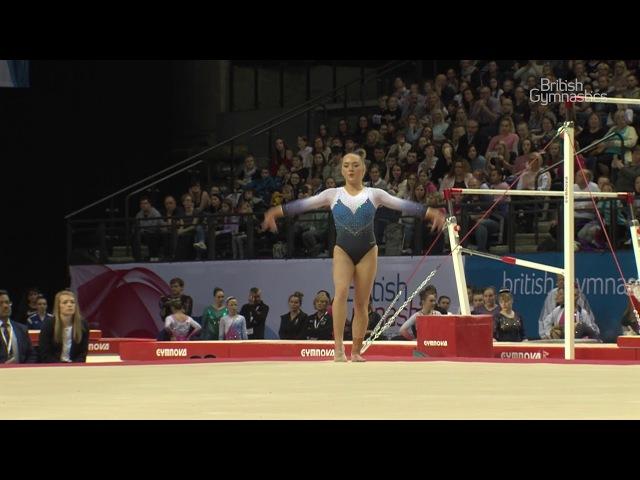 Amy Tinkler - GOLD- Floor - 2018 British Gymnastics Championships - WAG Senior All-Around