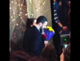 Соня Егорова и Константин Гецати на финале