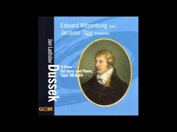 Jan Ladislav Dusík (Dussek) Duets for Harp and Fortepiano Op38 69