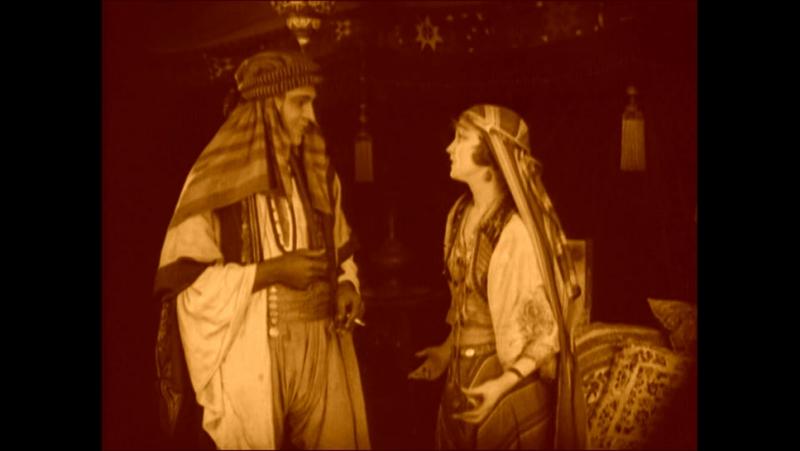 Шейх The Sheik Джордж Мелфорд George Melford 1921 США мелодрама драма