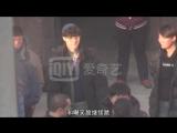 180105 EXO Lay Yixing @ Huang Bo's 《一出好戏》'Good Play' Filming