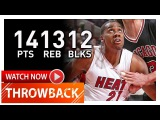 Hassan Whiteside Triple-Double Highlights vs Bulls (2015.01.25) - 14 Pts, 13 Reb, 12 Blocks!