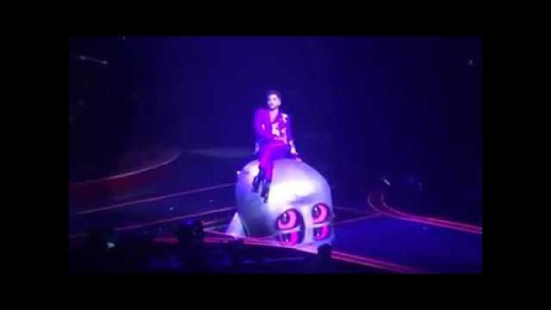 Queen and Adam Lambert Wembley 15th December 2017 - Killer Queen - Adam Speaking - Don't Stop Me Now