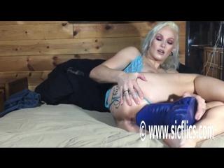 Lily - Lilys demonic XL dildo fuck