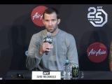 Видеозапись пресс-конференции главных участников UFC 221.