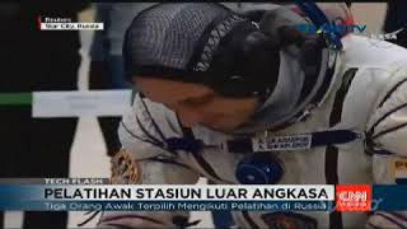 Pelatihan Stasiun Luar AngkasaTRANS TV Stream