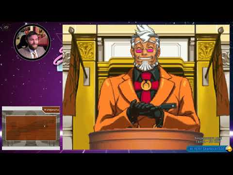 Стрим Phoenix Wright Ace Attorney part 17 18 04 2018