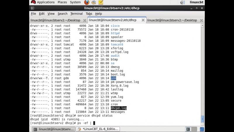 LCBT_EL-6_046_DHCPD_Config