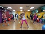 Yvette Bachman - HIIT Cardio & Core Workout | Интенсивная интервальная тренировка (гантели)