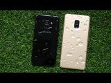 Обзор Samsung Galaxy A8 и A8+ Plus не на русском
