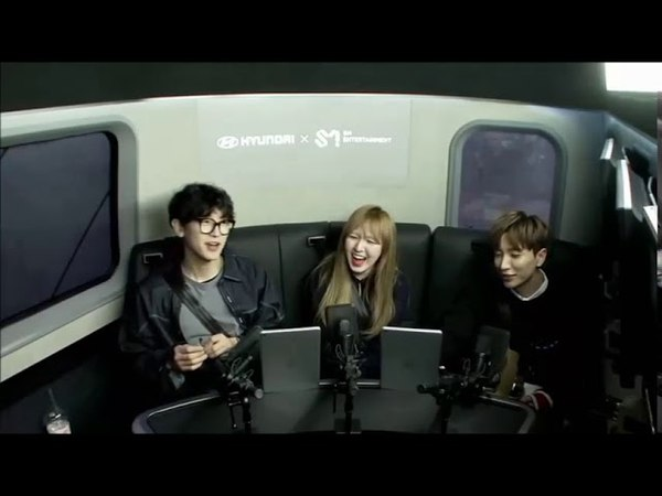Wendy x Chanyeol Interactions during SM ItLive