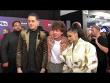 G-Eazy, Charlie Puth and Kehlani pose together at iHeartRadio Awards