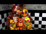 TOY CHICA FAMILY! Five Nights At Freddys Animations Compilation FNAF SFM