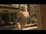 Porn star Ash Hollywood in sexy bikinis and lingerie