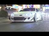 V3 Rocket Bunny BRZ on the Las Vegas Strip 4K | Perfect Stance