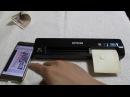 Atsushi Mekuchi with EPSON DS 40