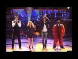 Christina Aguilera, Adam Levine, B. Shelton &amp CeeLo Green - Under Pressure (Live The Voice 2011)