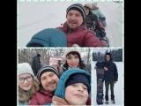Замечательный-экстримальный воходной с моими любимыми!#якутскиегорки#выходной#семъя#позитив