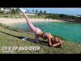 15 Minute BUTT Workout - Fitness Series With Romee Strijd -