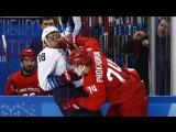 Ура! 2:0! Суровый бой ведет хоккейная дружина!