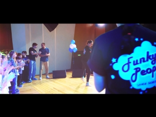 Отчетный концерт школы танцев Funky people(10.02.2018)