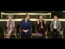 180412 Пом Клементьефф Том Хиддлстон Бенедикт Камбербэтч Том Холланд на V LIVE TV Маленькие сердечки