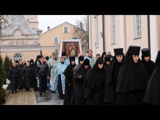 Проводы Святогорской иконы на Ровенщине г.