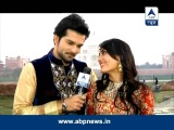 Asad and Zoya at Taj Mahal