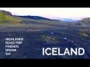 Iceland 4x4 road-trip by drone in 4K