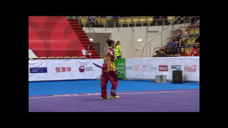 14th World Wushu Championships - Day 4 - Taolu - Mens Taijiquan and Womens Nandao and Daoshu