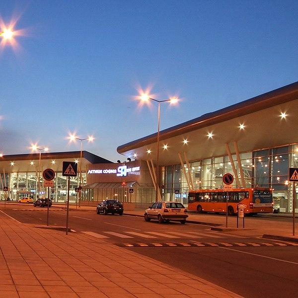 Аэропорт Софии: общий вид на терминалы