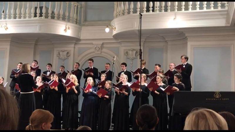 Э.Григ «Wie bist du doch schön» из цикла «4 псалма на норвежские мелодии»