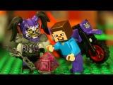 LEGO Ninjago 2018 и ЛЕГО НУБик Майнкрафт - Мультики LEGO Minecraft Animation Мультфильмы